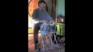 Bernardas Janauskas on Double Tabla set ( 2009, solo session )