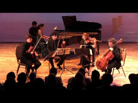 Franck Piano Quintet with Henschel Quartett and pianist Catherine Lan