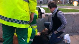 Bad Paramedic in Public Prank
