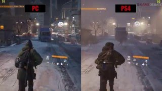The Division PS4 vs PC Graphics Comparison
