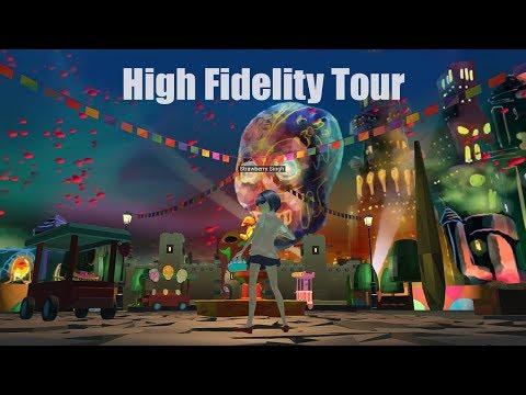 High Fidelity Tour - Social Virtual Reality World