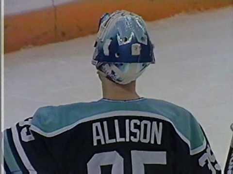 BU Hockey - 1995 NCAA Championship fourth BU goal