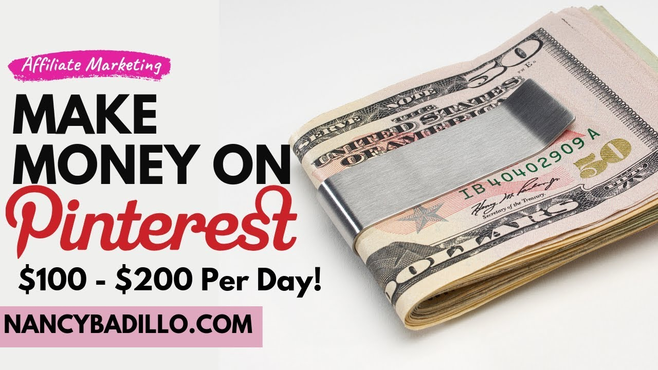How To Make Money On Pinterest - Make $100 Per Day With No Blog