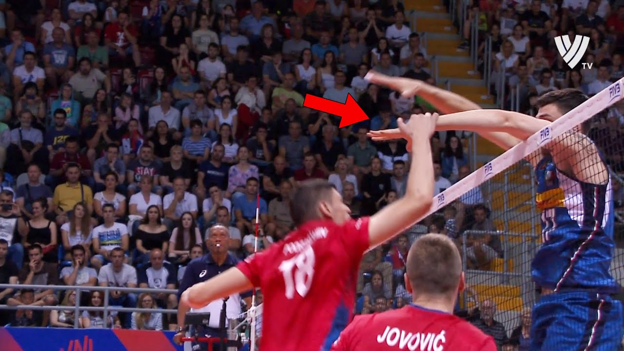 The Most Creative & Smart Plays In Volleyball History (HD)