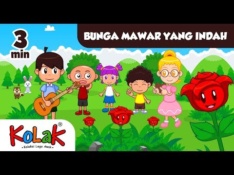 Lagu Anak Indonesia | Bunga Mawar Yang Indah | TK Dan PAUD