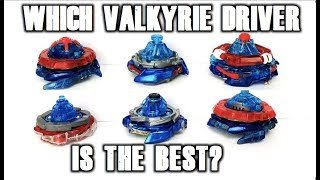 valkyrie driver tournament which valkyrie driver is the best beyblade burst tournament