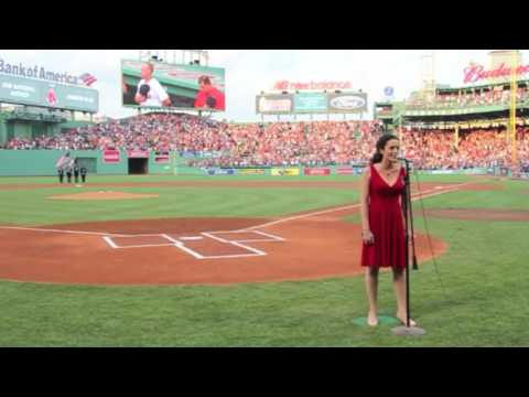 National Anthem, Jennifer Ellis @ Fenway Park