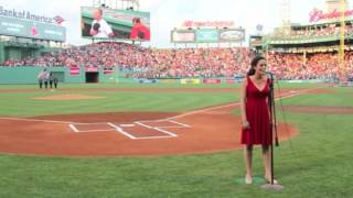 National Anthem, Jennifer Ellis @ Fenway Park