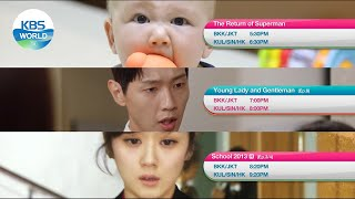 October 24 SUN - Young Lady and Gentleman / The Return of Superman [Today Highlights | KBS WORLD TV]