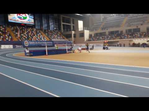 İstanbul Salon olimpik deneme yüksek atlama yarışması
