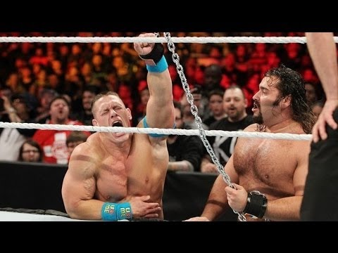 Thumbnail: John Cena vs Rusev – Russian Chain Match for the United States Championship Match