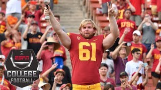 Jake Olson, who is blind, reflects on his journey from USC fan to player and snapping on an extra point in Week 1. ✓ Subscribe to ESPN on YouTube: ...