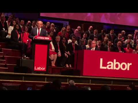 Luke Foley's address to NSW Labor Party State Conference 30 June 2018