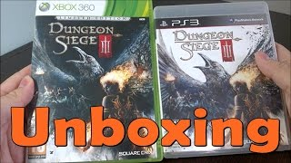 Dungeon Siege 3  - Xbox 360 \ PS3 - UNBOXING