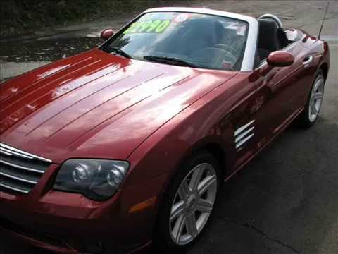 2005 chrysler crossfire roadster convertible limit youtube. Black Bedroom Furniture Sets. Home Design Ideas