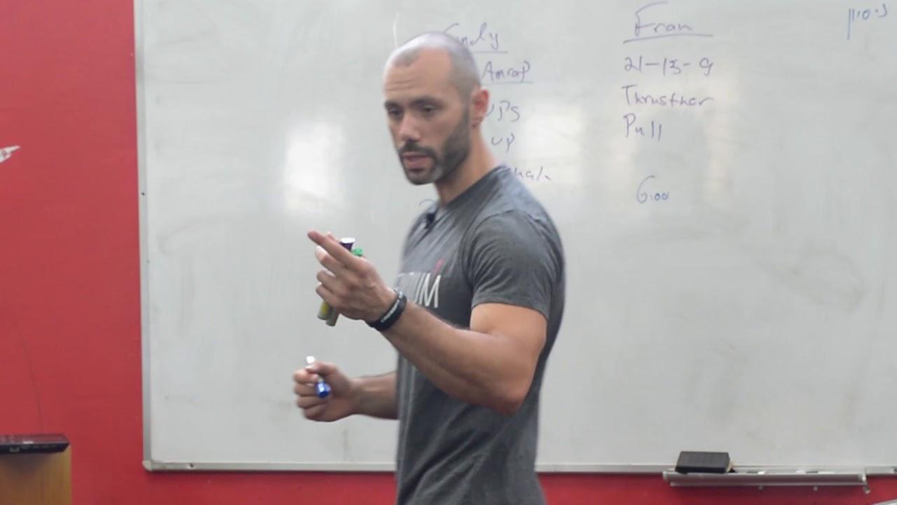Incendium Athletes   זוהר ליפקין מסביר למה חשוב להציב מטרה לפני כל אימון