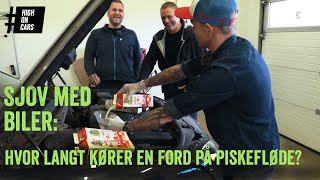 Hvor langt kører en Ford-motor på fløde? Og hvad skal vi med vores SAAB?