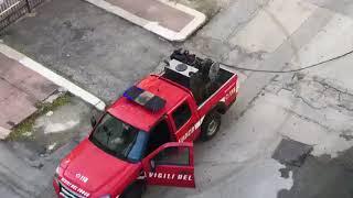 Molfetta. Auto in fiamme in via Canonico De Beatis