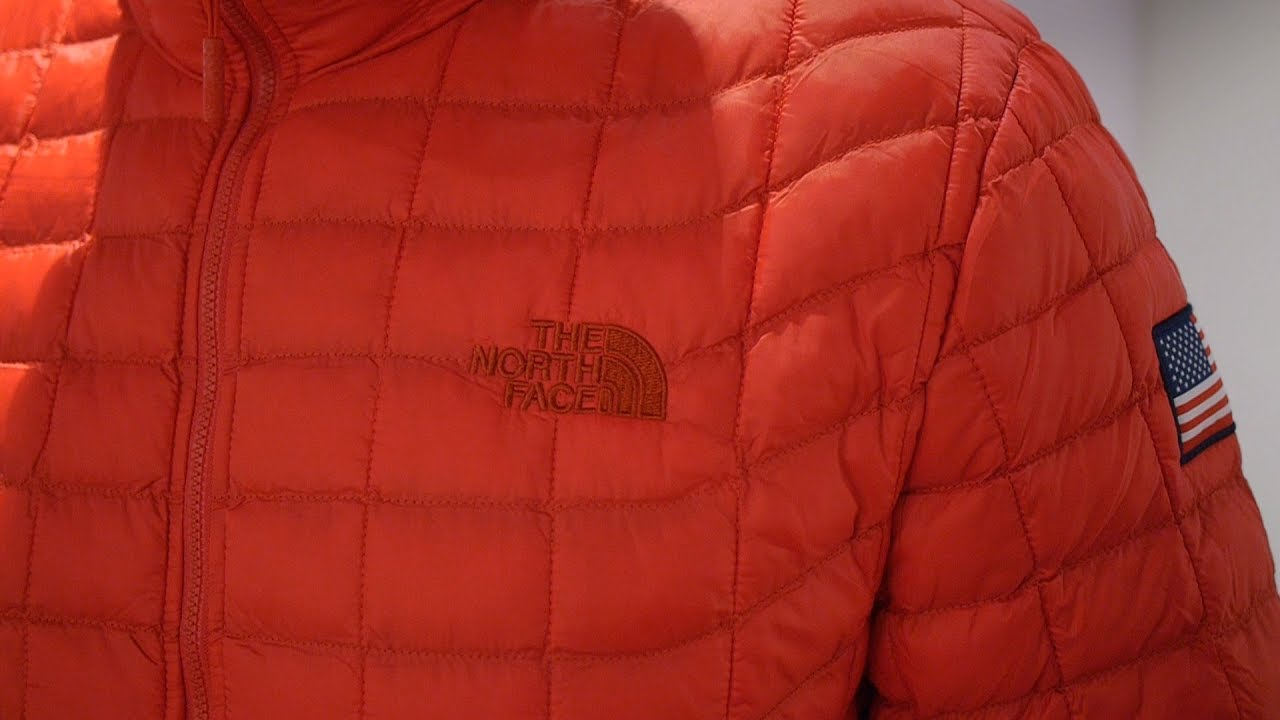 591fe1f5b The North Face IC Thermoball Jacket (International Collection - Black + Red  2017)