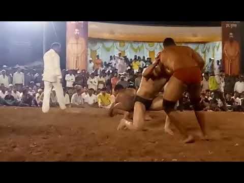 santosh padalkar vs pravin kumar at pusegaon | santosh win by ghissa