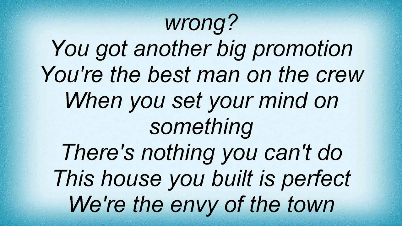 Lee Ann Womack Am I The ly Thing That Youve Done Wrong Lyrics