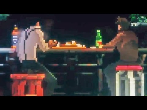 The Last Night Teaser Trailer | 2D Cyberpunk Open World
