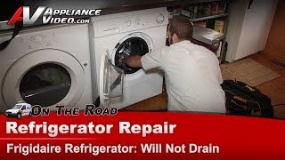 Washer Front Load Repair  - Will Not Drain or Pump water Out - Frigidaire , Elextrolux LTF530DS0