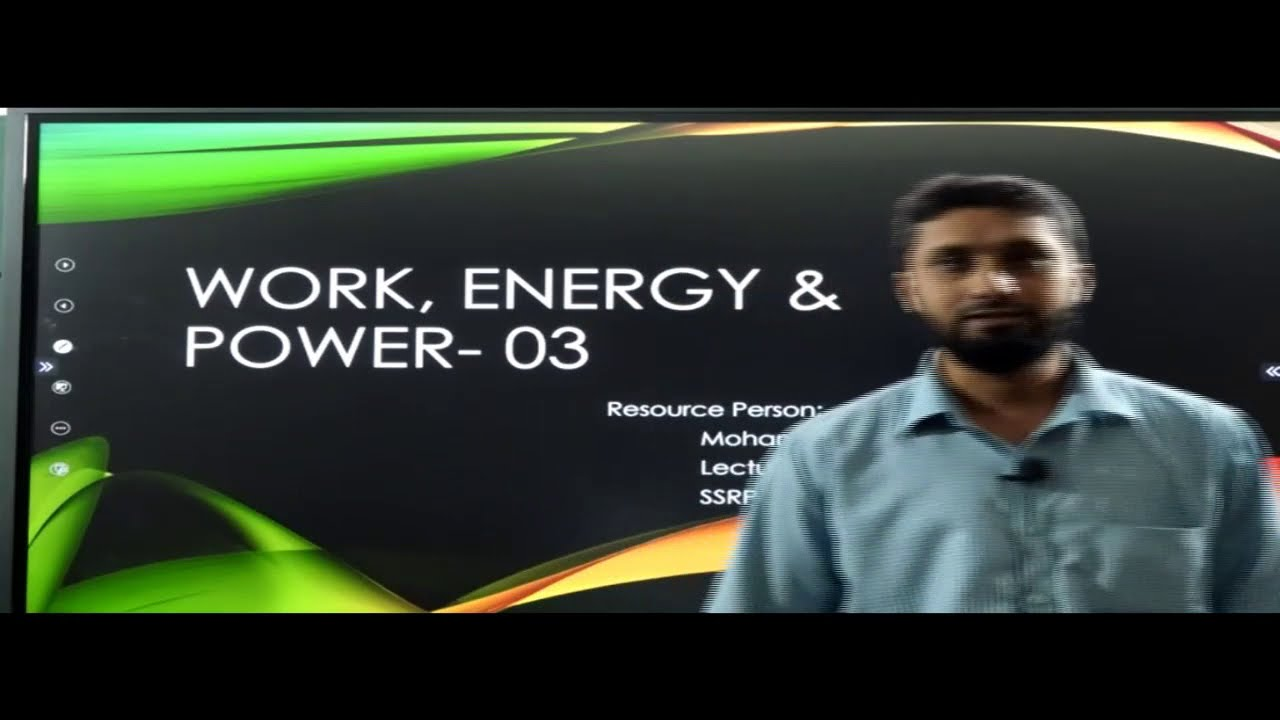 I PUC |  PHYSICS | WORK ENERGY AND POWER-03