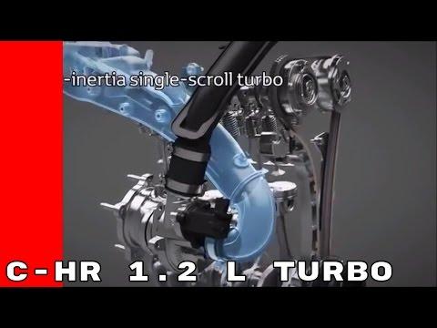 2017 Toyota C-HR 1.2 L Turbo Engine Animation