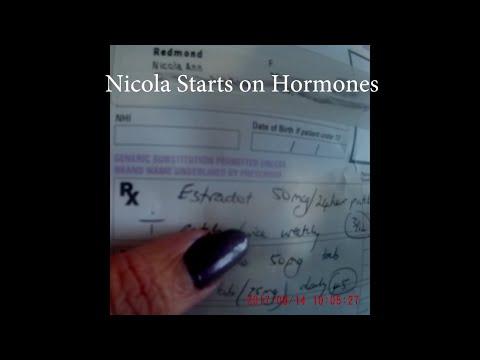 Nicola Redmond  Starts on Hormones