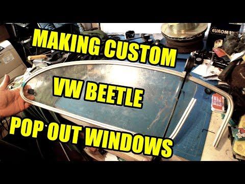 Custom Chop Top Pop Out Windows 1 - ROTTEN OLD 1956 VW Beetle - 109