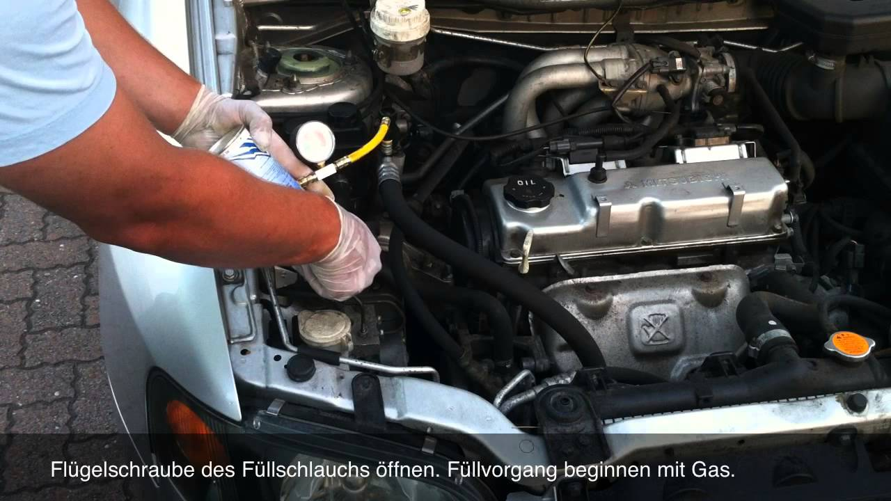 Klima Gas Selber Bef 252 Llen Mit Simple Starterkit Youtube