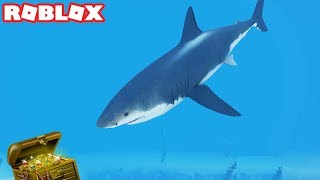 SHARK ATTACK WHILE SCUBA DIVING AT QUILL LAKE IN ROBLOX (Episode #7)