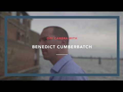 Off Camera with Brand Ambassador and actor Benedict Cumberbatch