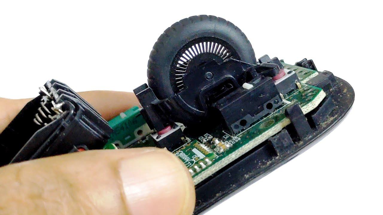 Logitech M510 Wireless Mouse Scrolling Problem Fix