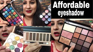 New Top 5 affordable eyeshadows India Rs150-500