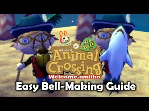 Quick Bell-Making Guide - Animal Crossing New Leaf Welcome amiibo