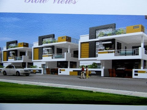 Luxury duplex villas with east west north facing for for North west house