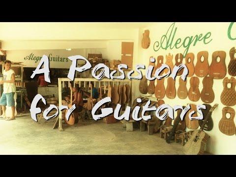 The Sounds of Alegre Guitars at Alegre Guitar Factory, Mactan Island, Cebu, Philippines