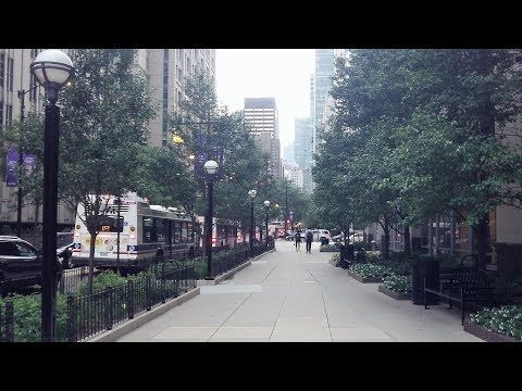 Streeterville in downtown Chicago (Aug 28, 2018)