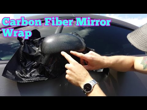 How to vinyl wrap your mirrors (outside). Learn how to vinyl wrap alone by @CKWRAPS www.ckwraps.ca
