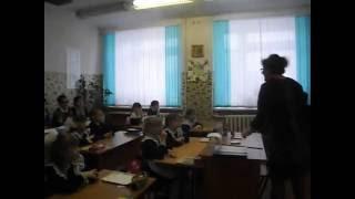 Урок татарского языка по теме