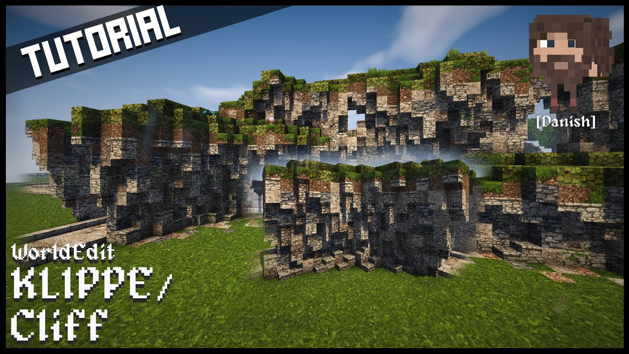 Minecraft Tutorial Custom Kløftklippe Med WorldEdit YouTube - Minecraft grobe hauser download