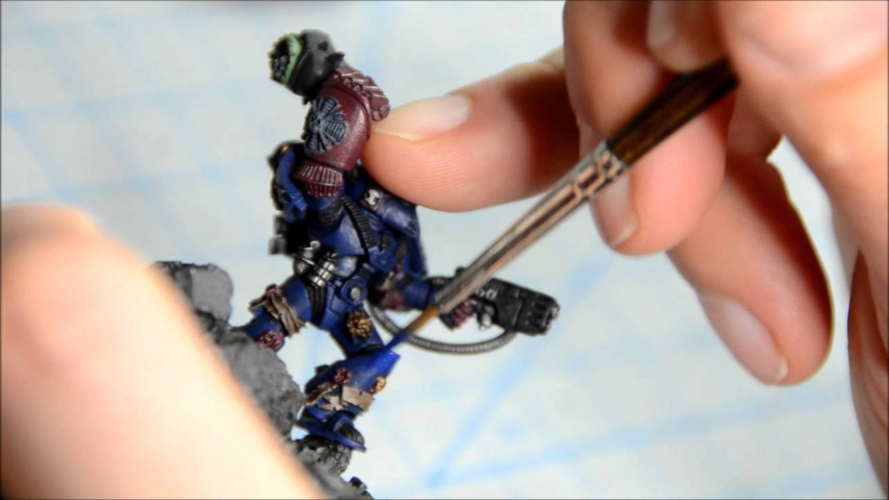 How To Paint Warhammer 40k 25th Anniversary Model Youtube