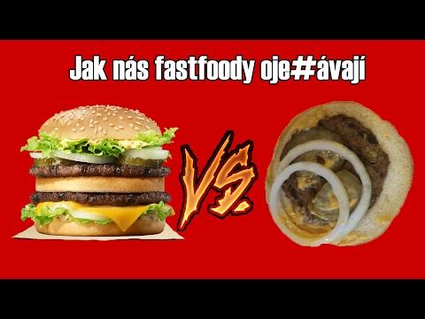 McDonald's vs. Burger King, neboli Pohádka o tom, jak nás fastfoody oje#ávají