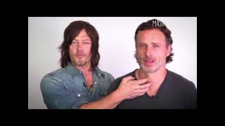 😂The Walking Dead Cast Funny Moments!! #2 😂❤ #LOWI