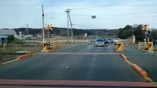 JR東日本 東北本線 大河原駅~白石駅 車窓風景