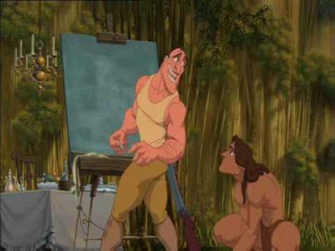 Tarzan GO-REE-LUHZ !