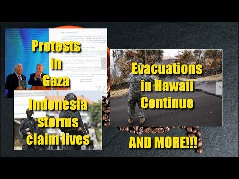 More on Hawaii Bombing in Indonesia The Embassy in Jerusalem and Other Stories