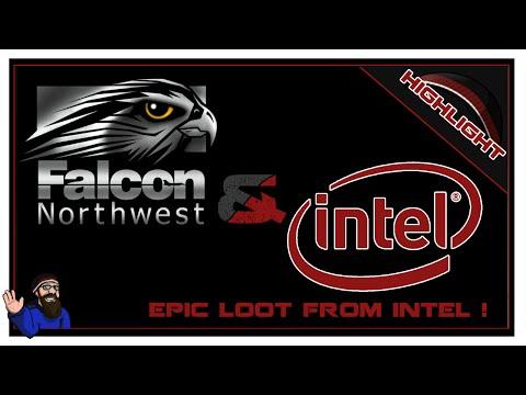 Cohh Opens The Intel/Falcon Northwest Surprise Box